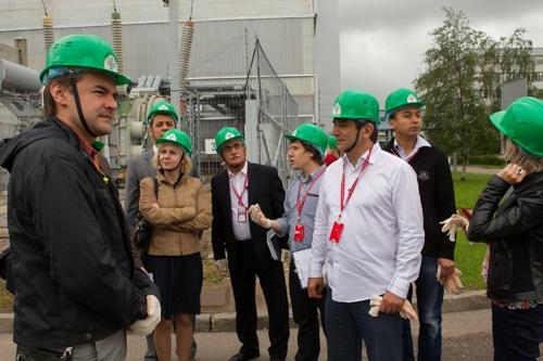 Коллеги из турецких информационных центров на калининской АЭС