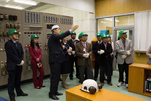 Калининская АЭС принимает гостей из Министерства энергетики, зеленых технологий и водных ресурсов Республики Малайзии