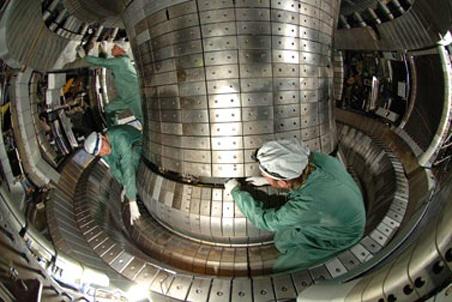 Установка для удержания плазмы реактора ITER