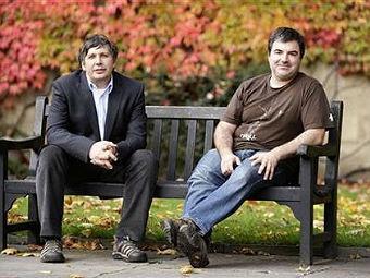 Создатели графена Андрей Гейм и Константин Новоселов, фото lenta.ru