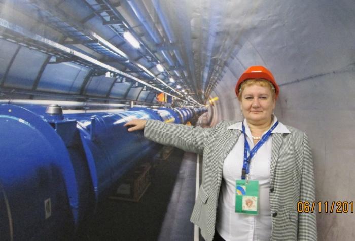 Учитель физики из города Северска Лилия Рыбина на БАКе
