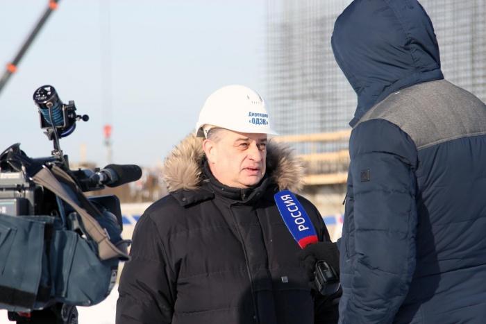 Московские журналисты на СХК