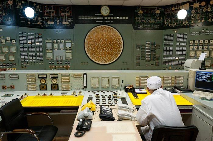 БЩУ второго энергоблока Белоярской АЭС
