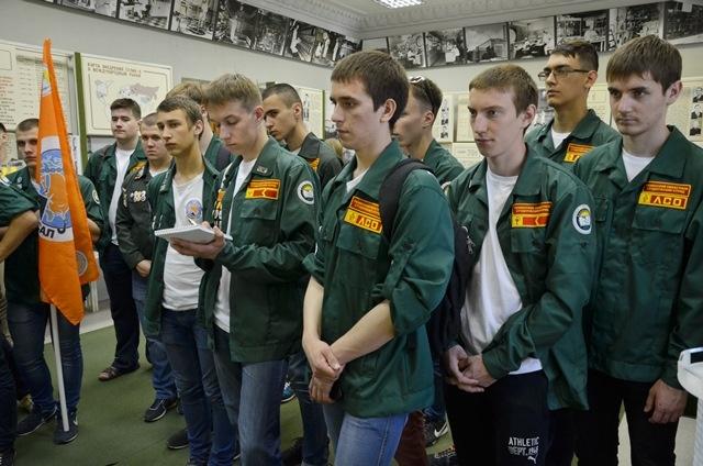 На ПО Маяк прибыли первые отряды Всероссийской студенческой стройки
