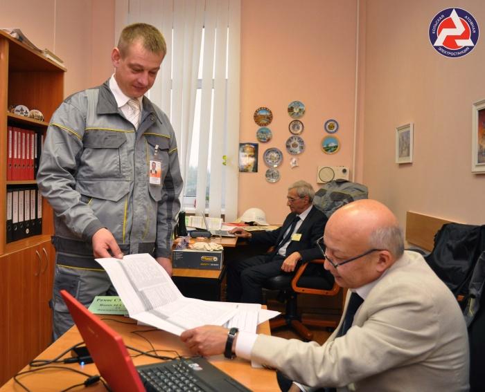 Начальник химцеха Игорь Потерянский во время Партнерской проверки на РАЭС