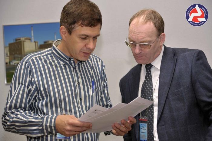 Игорь Маракулин (справа) во время Партнерской проверки-2012