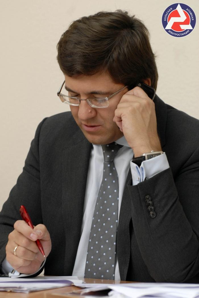 Советник директора Кольской АЭС Евгений Никора