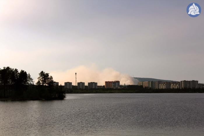 Вот такие дымы были этим летом в ПЗ