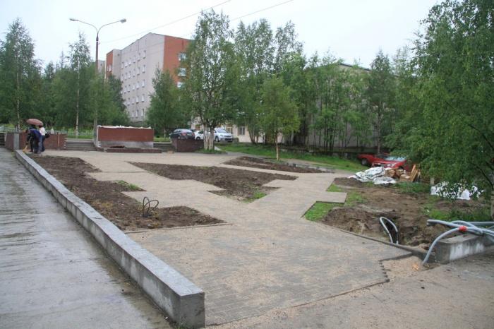 Сквер строителей