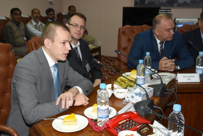 Денис Барусевич (первый слева)
