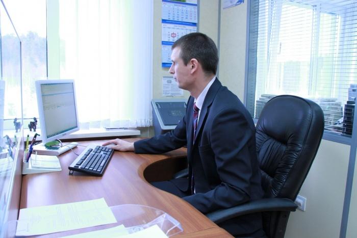 Рабочее место Олега Бойкова в Отдела экономической безопасности. Всё по 5С