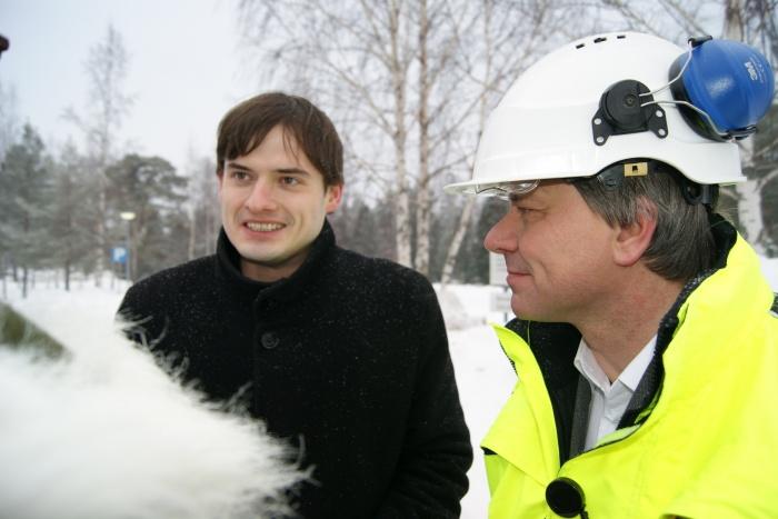 Иван Шаталин и Матти Лехте