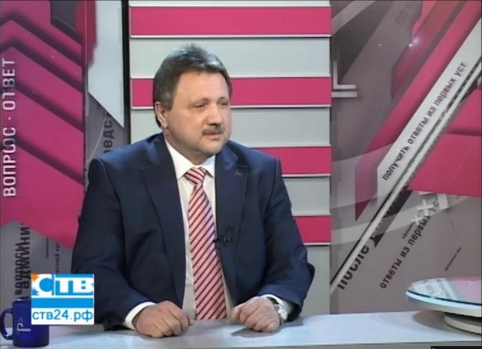 """Владимир Перегуда в прямом эфире на """"СТВ"""""""