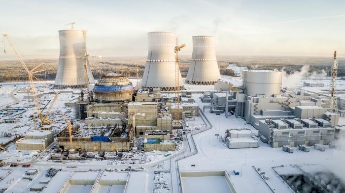 Строительная площадка Ленинградской АЭС-2