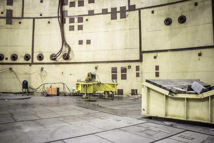 Реакторное отделение второго энергоблока ЛАЭС-2
