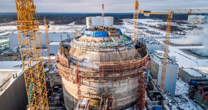 Внутренняя защитная оболочка реактора, ЛАЭС-2, второй энергоблок