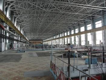 Бывший машзал Сибирской АЭС, на которой действовали уран-графитовые реакторы