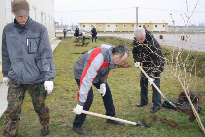 Апрельский субботник на Балтийской АЭС