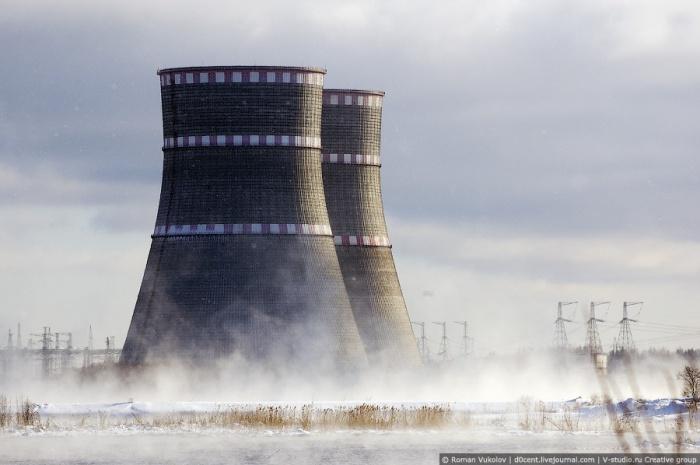 Градирни Калининской АЭС