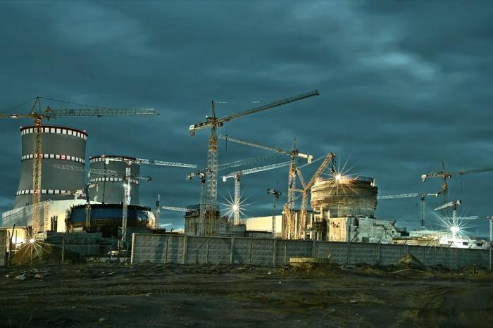Стройплощадка ЛАЭС