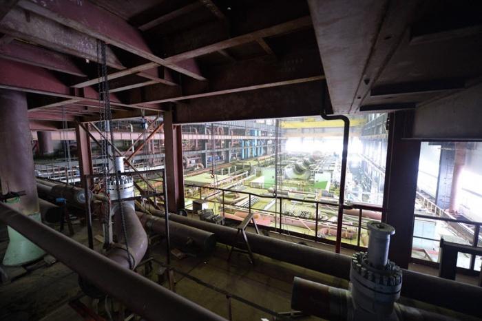 Машзал строящегося четвертого энергоблока Ростовской АЭС