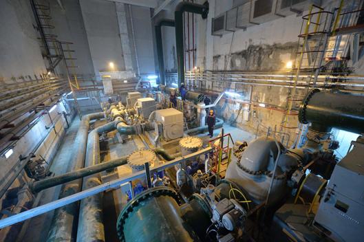 Насосная добавочной воды НДВ-2 энергоблоков №3 и №4 Ростовской АЭС