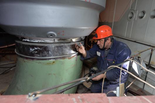 Сварка стыков главного циркуляционного трубопровода на четвертом энергоблоке Ростовской АЭС