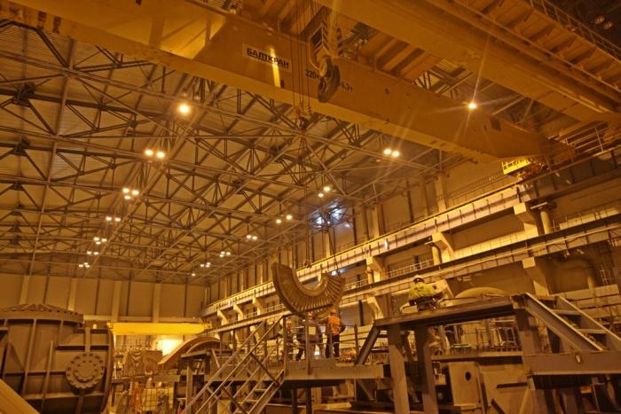 Проверка турбоагрегата первого энергоблока строящейся ЛАЭС