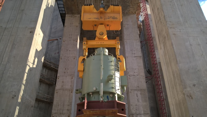 Электродвигатель ГЦНА для первого строящегося блока ЛАЭС