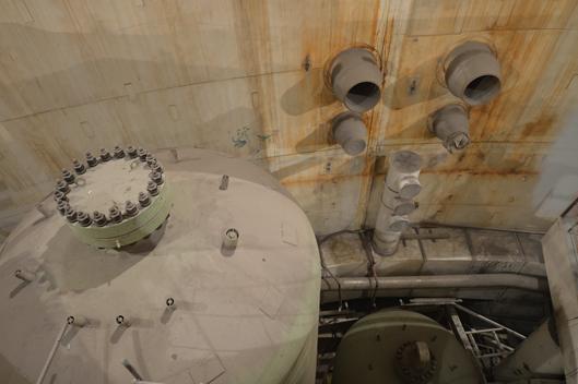 Монтаж гидроёмкости САОЗ на четвёртом энергоблоке Ростовской АЭС