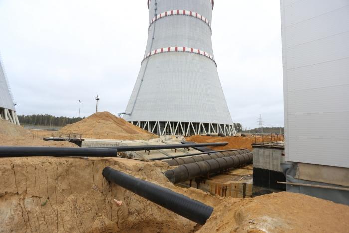 Каналы у насосной станции строящейся ЛАЭС. Фото: ТИТАН-2