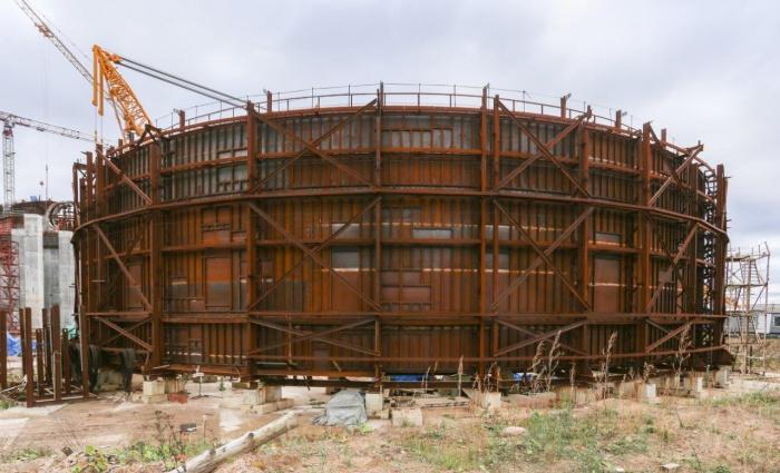 Четвертый ярус ВЗО здания реактора второго блока строящейся ЛАЭС