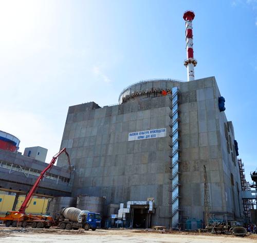 Четвертый энергоблок Ростовской АЭС