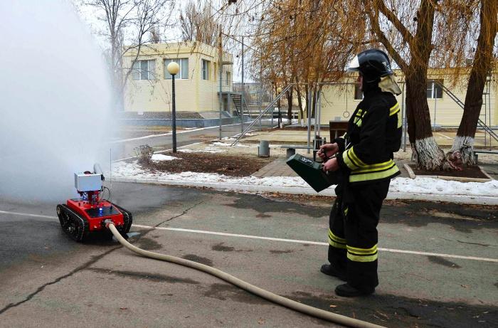 Роботизированный пожарный комплекс Прометей