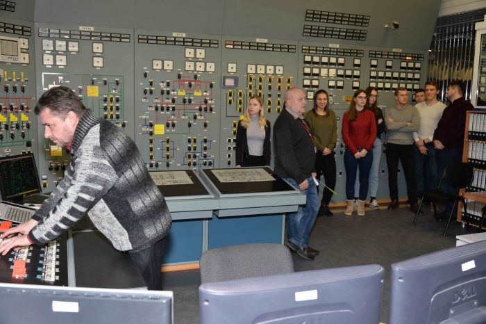 Белорусские студенты на Ростовской АЭС