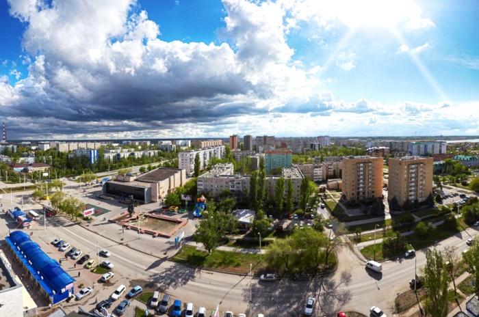 Вид на город Волгодонск