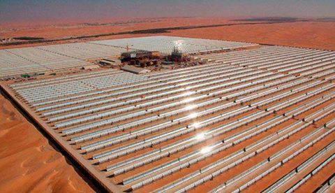 СЭС Shams 1 в Объединенных Арабских Эмиратах