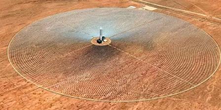Башня - солнечный концентратор