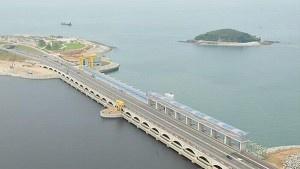 Крупнейшая на сегодняшний день приливная электростанция находится в Южной Корее