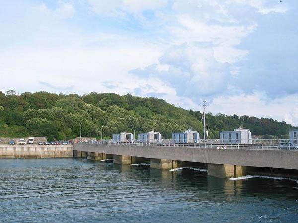 Приливная электростанция Ля Ранс во Франции