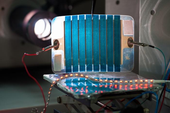 Российские учёные из университета МИСиС изобрели дешёвые солнечные батареи, фото: МИСиС