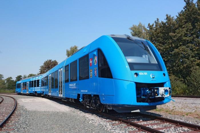 Водородный поезд Alstom