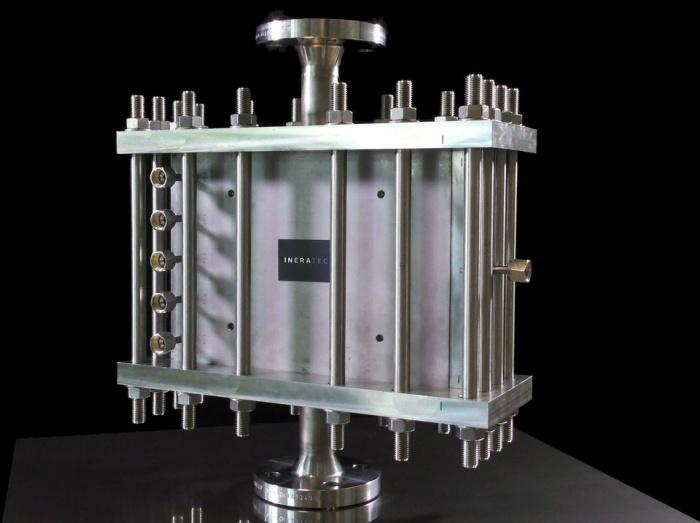 Химический реактор — сердце всей системы, предназначенной для преобразования СО2 из воздуха в жидкое топливо