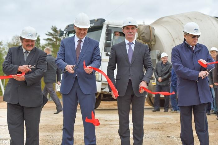 Торжественная церемония заливки первого бетона состоялась на площадке строительства многоцелевого исследовательского реактора на быстрых нейтронах МБИР, Димитровград