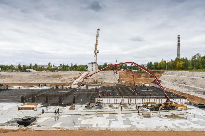 Первый бетон залили на площадке строительства реактора МБИР в Димитровограде