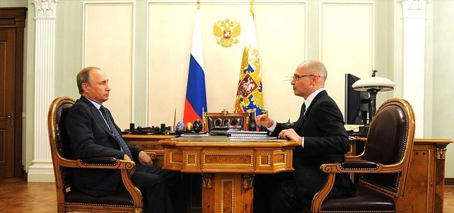 Владимир Путин и Сергей Кириенко, фото kremlin