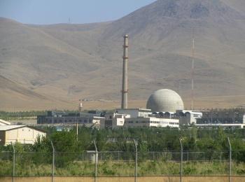 яжеловодный исследовательский реактор в иранском ядерном центре