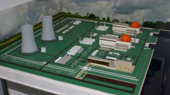Макет Белорусской АЭС