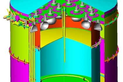 Трехмерная модель детектора
