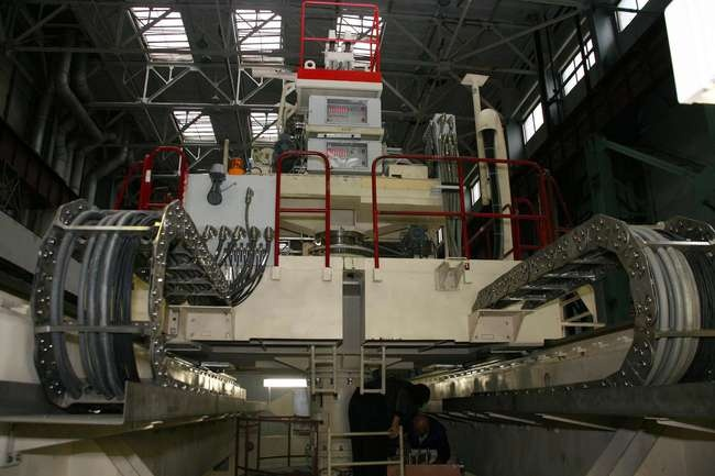 Перегрузочная машина для четвертого энергоблока Калининской АЭС